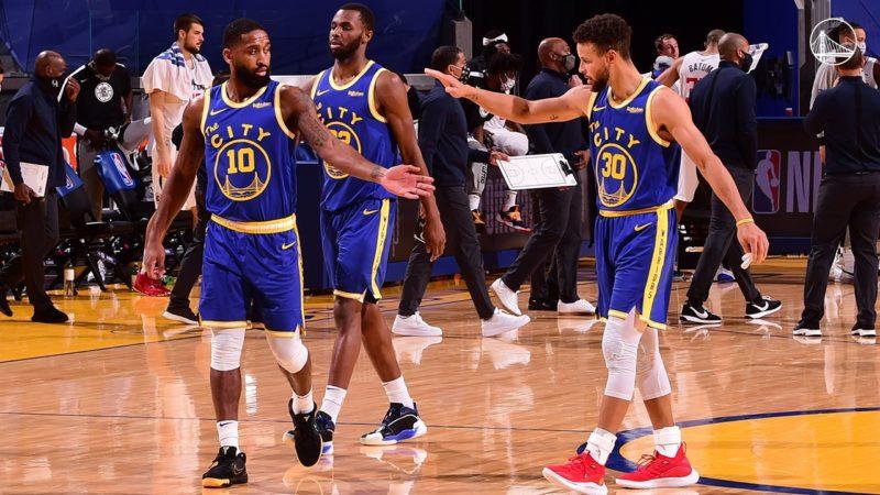 Curry porte encore les Warriors, Houston en feu, Utah s'offre les Bucks et les autres matchs de la nuit