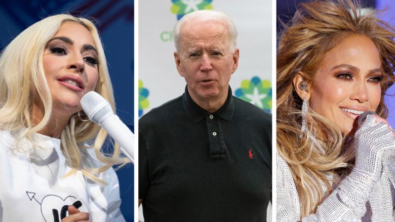 L'investiture de Joe Biden: le show des artistes