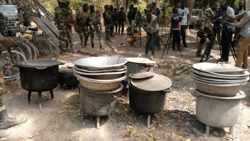 Casamance : l'armée fait tomber toutes les zones occupées par  les rebelles