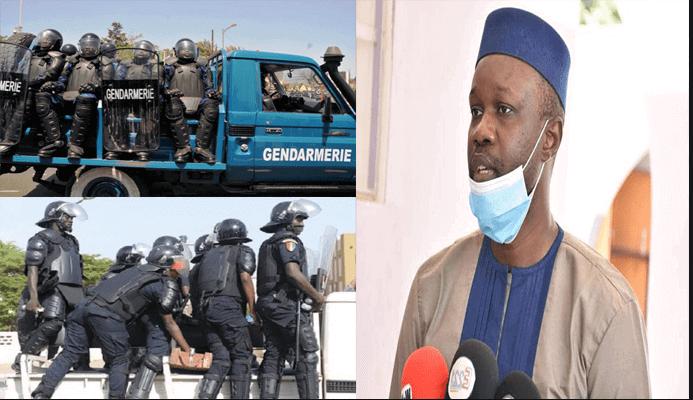 Ousmane Sonko : «un malaise très profond dans la gendarmerie et la police»