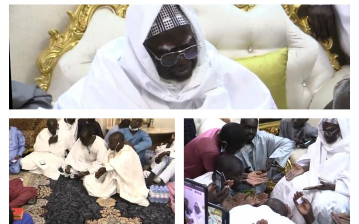 Audience à Touba : Assane Diouf, Clédor Sène et Dame Mbodji reçus par le Khalife général