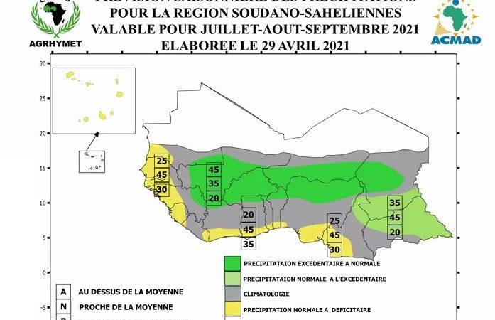 Saison des pluies : l'ACMAD prédit une forte activité pluviométrique et des inondations en Afrique de l'Ouest
