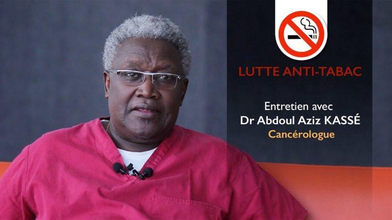 Lutte anti-tabac : le cancérologue Abdoul Aziz Kassé fait le bilan