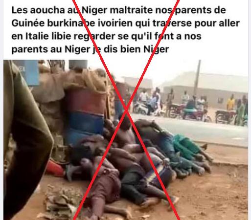 Fact-Checking | Attention, les images qui ont entraîné des affrontements en Côte d'Ivoire ne montrent pas des Ivoiriens violentés au Niger