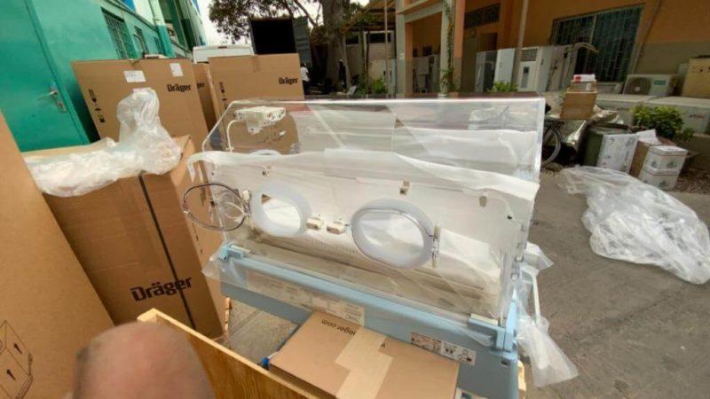 Hôpital Magatte Lô : après l'incendie, le service néonatologie parfaitement rénové