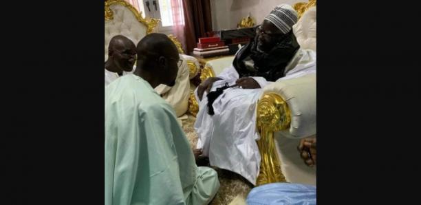 Touba : Ousmane Sonko reçu par le Khalife
