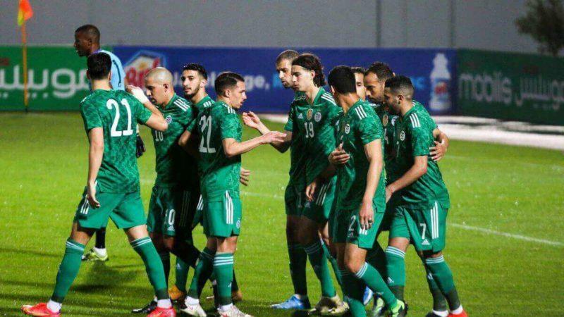 l'Algérie à un pas du record d'invincibilité sur le continent