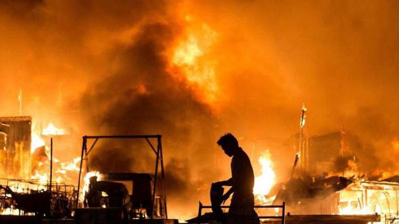 Hôpital de Saint-Louis: Le service de réanimation prend feu, 7 malades transférés