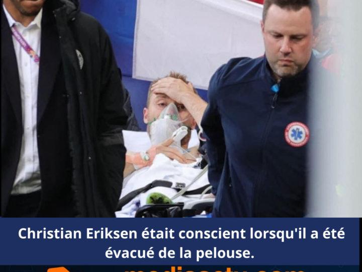 Euro-2021 : après un malaise cardiaque en plein match, l'état de santé du Danois Eriksen est stable