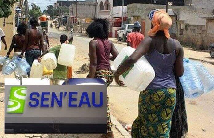 Dakar : Sen'Eau annonce des perturbations dans l'approvisionnement en eau